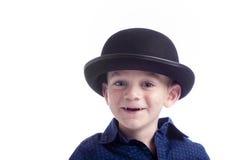 χαριτωμένο καπέλο αγοριών Στοκ Εικόνα