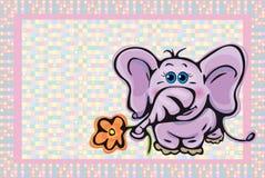 χαριτωμένο κατσίκι καρτών απεικόνιση αποθεμάτων