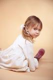 χαριτωμένο κατσίκι κοριτ&si Στοκ Εικόνες