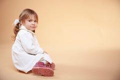 χαριτωμένο κατσίκι κοριτ&si Στοκ φωτογραφία με δικαίωμα ελεύθερης χρήσης