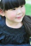 Χαριτωμένο κινεζικό κορίτσι Στοκ Εικόνα