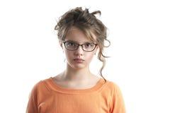χαριτωμένο κορίτσι λίγο πορτρέτο Στοκ εικόνα με δικαίωμα ελεύθερης χρήσης