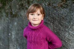 χαριτωμένο κορίτσι λίγο υ Στοκ Φωτογραφία