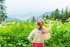 χαριτωμένο κορίτσι λίγο υ Στοκ Εικόνες