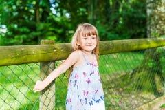 χαριτωμένο κορίτσι λίγο υ Στοκ Εικόνα