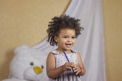 χαριτωμένο κορίτσι διασκέ στοκ φωτογραφίες