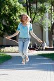 χαριτωμένο κορίτσι διασκ στοκ εικόνες με δικαίωμα ελεύθερης χρήσης