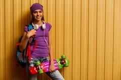 χαριτωμένο κορίτσι εφηβι&kap Στοκ Εικόνες