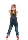 χαριτωμένο κορίτσι λίγο θέτοντας στούντιο Στοκ εικόνες με δικαίωμα ελεύθερης χρήσης