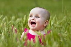 χαριτωμένο κορίτσι λίγο λ& Στοκ Εικόνα