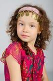 χαριτωμένο κορίτσι λίγο πορτρέτο Στοκ Εικόνα