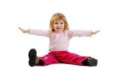 χαριτωμένο κορίτσι λίγο π&omic Στοκ φωτογραφίες με δικαίωμα ελεύθερης χρήσης