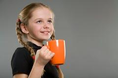 χαριτωμένο κορίτσι λίγο χ&alp Στοκ φωτογραφίες με δικαίωμα ελεύθερης χρήσης