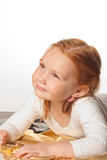 χαριτωμένο κορίτσι μπαλέτ&omicr στοκ εικόνα