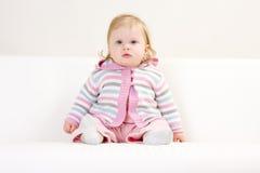 χαριτωμένο κορίτσι μωρών Στοκ φωτογραφίες με δικαίωμα ελεύθερης χρήσης