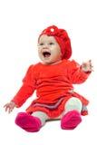χαριτωμένο κορίτσι μωρών Στοκ εικόνες με δικαίωμα ελεύθερης χρήσης