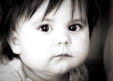 χαριτωμένο κορίτσι μωρών Στοκ εικόνα με δικαίωμα ελεύθερης χρήσης