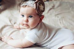 χαριτωμένο κορίτσι μωρών Στοκ Εικόνες