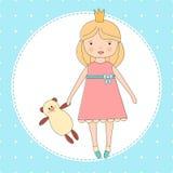 Χαριτωμένο μικρό κορίτσι Στοκ εικόνες με δικαίωμα ελεύθερης χρήσης