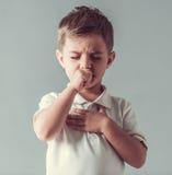 Χαριτωμένο μικρό παιδί Στοκ φωτογραφία με δικαίωμα ελεύθερης χρήσης
