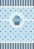 Χαριτωμένο μπλε υπόβαθρο μωρών Στοκ Εικόνες