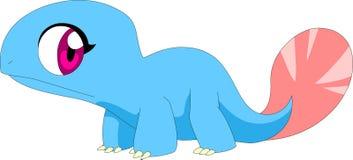 Χαριτωμένο μπλε mon στοκ φωτογραφία με δικαίωμα ελεύθερης χρήσης