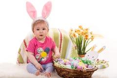 Χαριτωμένο μωρό Πάσχα Στοκ Εικόνες