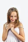 Χαριτωμένο νέο έφηβη Στοκ Φωτογραφία