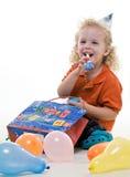 Χαριτωμένο νέο ξανθό εβραϊκό αγόρι μικρών παιδιών στοκ φωτογραφίες με δικαίωμα ελεύθερης χρήσης
