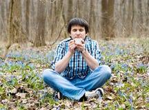 χαριτωμένο πίνοντας δασι&kappa στοκ εικόνες με δικαίωμα ελεύθερης χρήσης