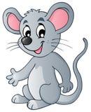 χαριτωμένο ποντίκι κινούμενων σχεδίων Στοκ Φωτογραφία