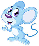 χαριτωμένο ποντίκι Στοκ Φωτογραφία