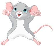 χαριτωμένο ποντίκι διανυσματική απεικόνιση