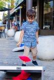χαριτωμένο πορτρέτο αγορ&iot Στοκ Εικόνες
