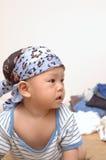 χαριτωμένο πορτρέτο μωρών Στοκ φωτογραφίες με δικαίωμα ελεύθερης χρήσης