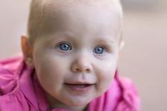 χαριτωμένο πρόσωπο μωρών Στοκ εικόνες με δικαίωμα ελεύθερης χρήσης