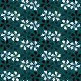 χαριτωμένο πρότυπο άνευ ραφής το σχέδιο ανασκόπησης floral ιδανικά χρησιμοποιεί το διάνυσμά σας print Στοκ Εικόνες