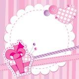 χαριτωμένο ροζ πλαισίων Στοκ Εικόνες