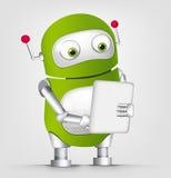 Χαριτωμένο ρομπότ Στοκ εικόνα με δικαίωμα ελεύθερης χρήσης
