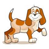 χαριτωμένο σκυλί λίγα Στοκ Φωτογραφίες