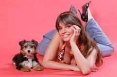 χαριτωμένο σκυλί 2 στοκ φωτογραφία με δικαίωμα ελεύθερης χρήσης
