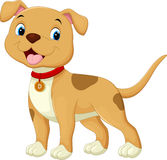 χαριτωμένο σκυλί κινούμεν διανυσματική απεικόνιση