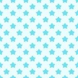 Χαριτωμένο συρμένο χέρι γεωμετρικό άνευ ραφής σχέδιο αστεριών Στοκ εικόνες με δικαίωμα ελεύθερης χρήσης