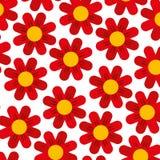 Χαριτωμένο υπόβαθρο σχεδίων λουλουδιών Στοκ εικόνες με δικαίωμα ελεύθερης χρήσης