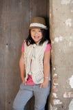 χαριτωμένο χαμόγελο κοριτσιών Στοκ εικόνα με δικαίωμα ελεύθερης χρήσης