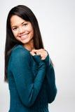 Χαριτωμένο brunette στοκ φωτογραφία με δικαίωμα ελεύθερης χρήσης