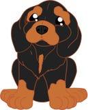 χαριτωμένο dachshund κινούμενων σ&ch Στοκ Εικόνες