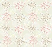 χαριτωμένο floral πρότυπο άνευ ρ&a ελεύθερη απεικόνιση δικαιώματος