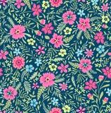 χαριτωμένο floral πρότυπο Στοκ Φωτογραφία