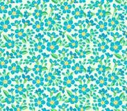 χαριτωμένο floral πρότυπο Στοκ φωτογραφίες με δικαίωμα ελεύθερης χρήσης